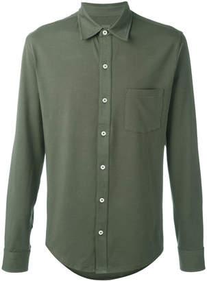 Closed patch pocket shirt