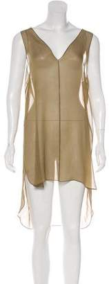 Chloé Sleeveless V-Neck Tunic