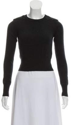 Diane von Furstenberg Embellished Cashmere Sweater