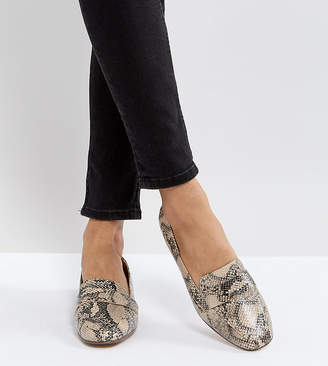 Asos Design MILESTONE Flat Shoes
