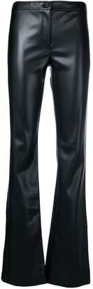 Theory faux leather trousers