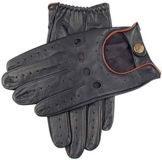 Dents Mens Delta Hairsheep Leather Classic Driving Gloves - /Tan - Medium