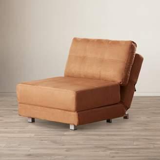 Zipcode Design Krystal Microfiber Convertible Chair