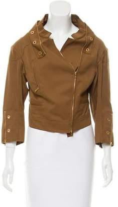 Prada Cropped Casual Jacket w/ Tags