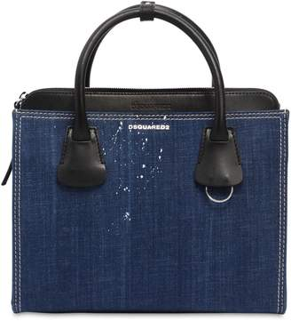DSQUARED2 Medium Deana Denim Top Handle Bag