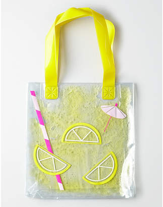 At Aerie American Eagle Lemonade Jelly Tote