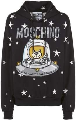 Moschino Astro Teddy Print Hoodie