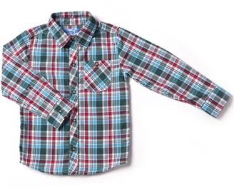 Kapital K Baby Toddler Boy Plaid Button-Down Shirt