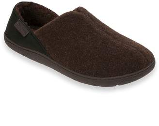 Dearfoams Men's Felted Neoprene Clog Slippers