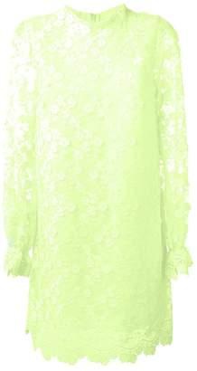 Giamba floral appliqué dress