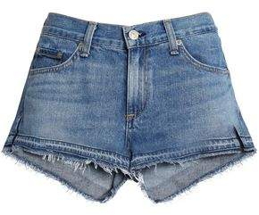 Rag & Bone Distressed Denim Mini Shorts