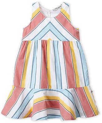 Lucky Brand Toddler Girls) Striped Ruffle Hem Dress