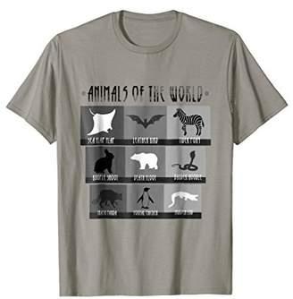 Original Penguin 'Animals Of The World' Funny Penguin Animals Shirt