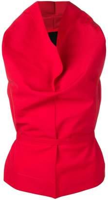 Issey Miyake draped top