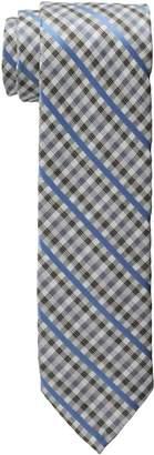 Haggar Men's Check Linen Tie