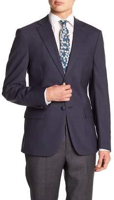 John Varvatos Collection Notch Collar Front Button Blazer