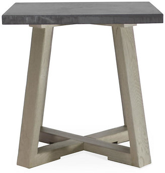Finlay Side Table - Driftwood - Brownstone Furniture