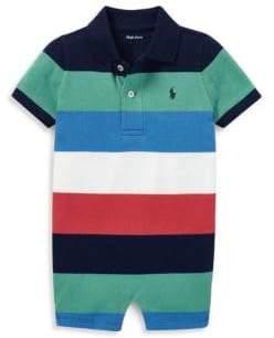 Ralph Lauren Baby Boy's Striped Cotton Shortall