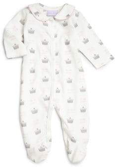 "Rachel Riley Baby's ""My Little Princess"" Cotton Footie"