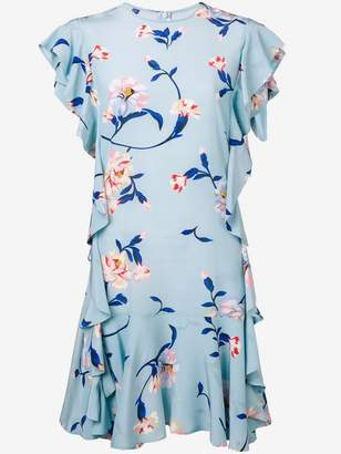 Ermanno Scervino floral print ruffle dress