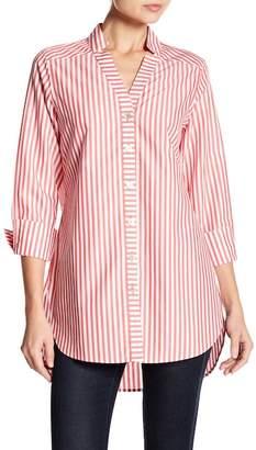 Foxcroft Drew Preppy Stripe Tunic