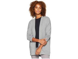 Mod-o-doc Cotton Modal Fleece Drop Shoulder Cardigan