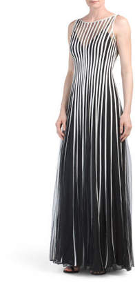Striped Illusion Dress