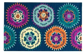 Rizzy Home Play Day Flowery Rug