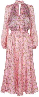 Milly Emmie Cheetah Print Dress