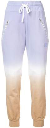 Baja East tie-dye track trousers