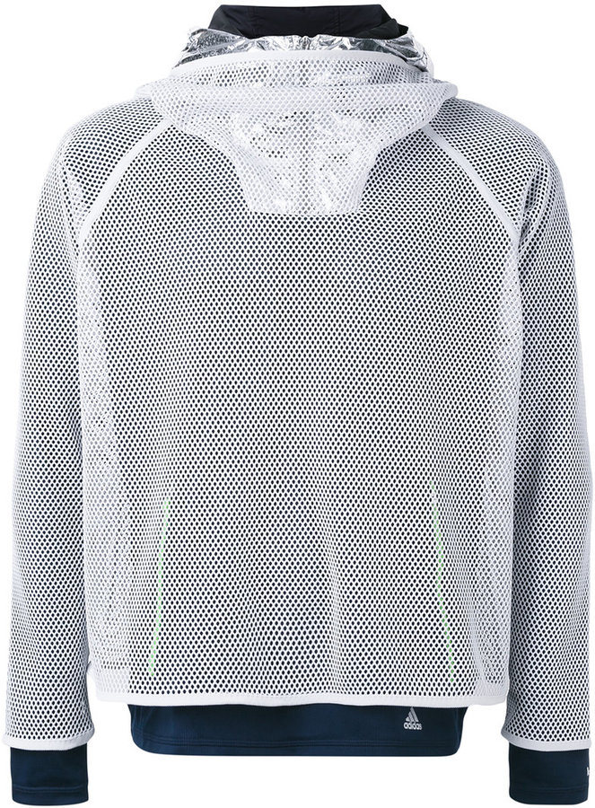 Adidas By Kolor mesh layered sweatshirt