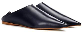 Acne Studios Exclusive to mytheresa.com - Amina leather babouche slippers