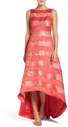 Women's Adrianna Papell High/low Gown $249 thestylecure.com