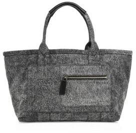 Marc Jacobs Customizable Denim East-West Tote $225 thestylecure.com