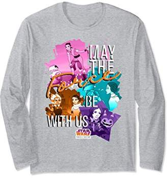 Star Wars Forces of Destiny Force Be With Us Long Sleeve Tee
