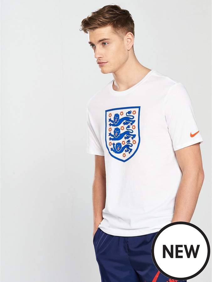 Mens England Crest Tee