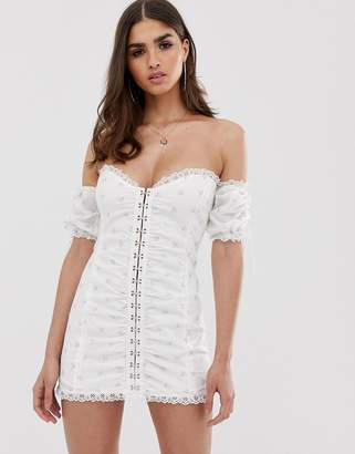 For Love & Lemons Magnolia mini dress