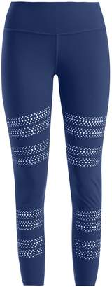 TRACK & BLISS Go With The Flow laser-cut leggings