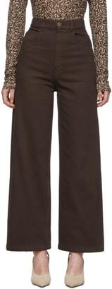 Nanushka Brown Marfa Jeans