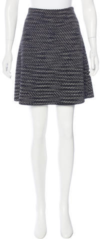 Missoni M Missoni Knit Mini Skirt