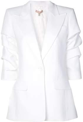 Michael Kors crushed-sleeve blazer