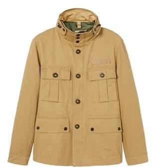 Mango Man MANGO MAN Concealed hood field jacket