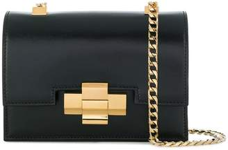 No.21 metallic lock crossbody bag