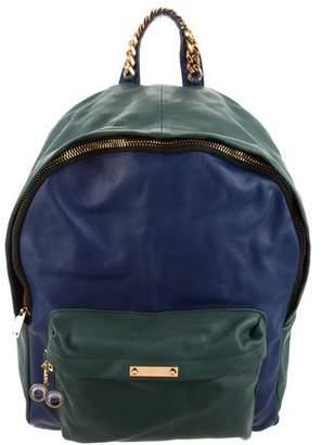Sophie Hulme Bi-Color Backpack