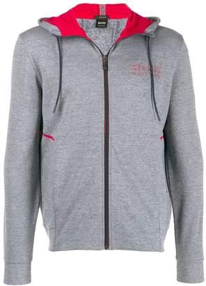 HUGO BOSS hooded logo sweatshirt