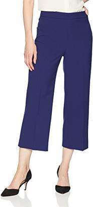 Tahari by Arthur S. Levine Women's Crepe Long Culotte Pant