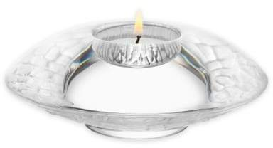Discus Votive Holder in Frosted