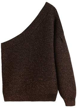 MANGO Metal thread sweater