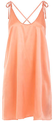 Violet And Wren Scoop Back Slip Dress (Papaya)
