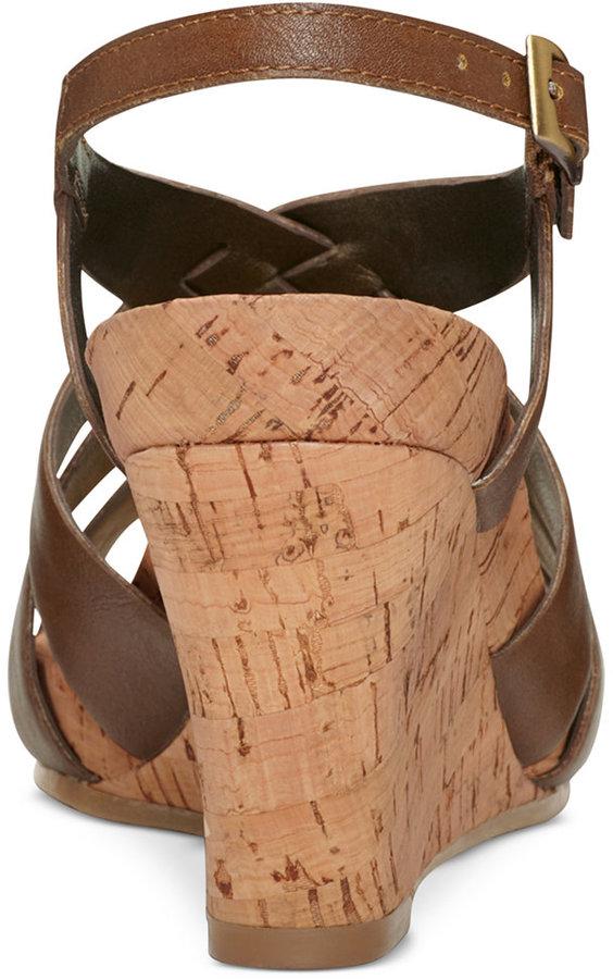 Aerosoles Guava Plush Wedge Sandals